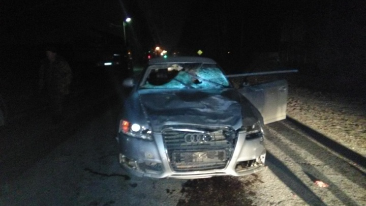 В Прикамье иномарка сбила троих пешеходов: они погибли на месте