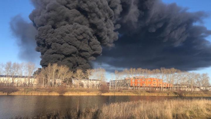 Всё о пожаре на заводе «Полимер-Пласт» на Бабарынке