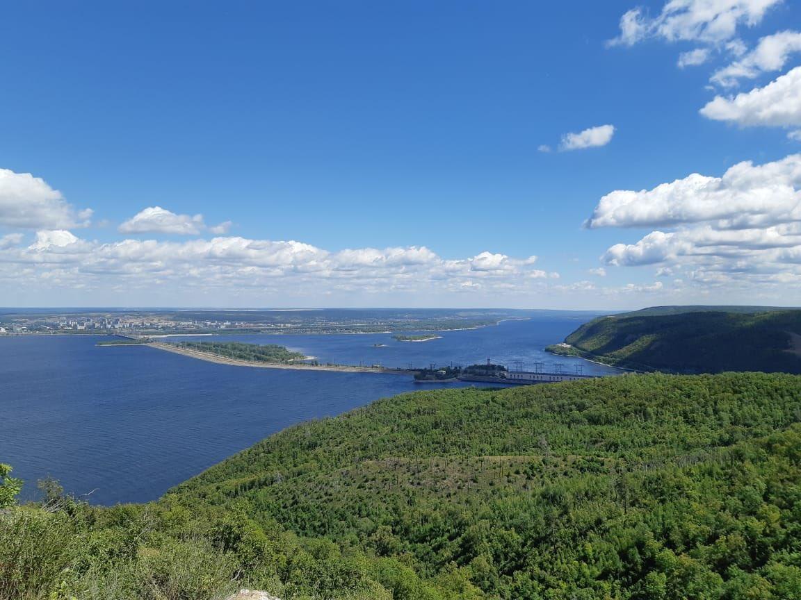Вид с горы Отважной, где могут построить несколько трасс для экстремалов