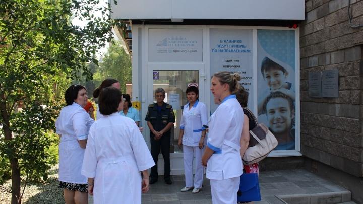 Пожарная тревога: в Уфе эвакуировали больницу