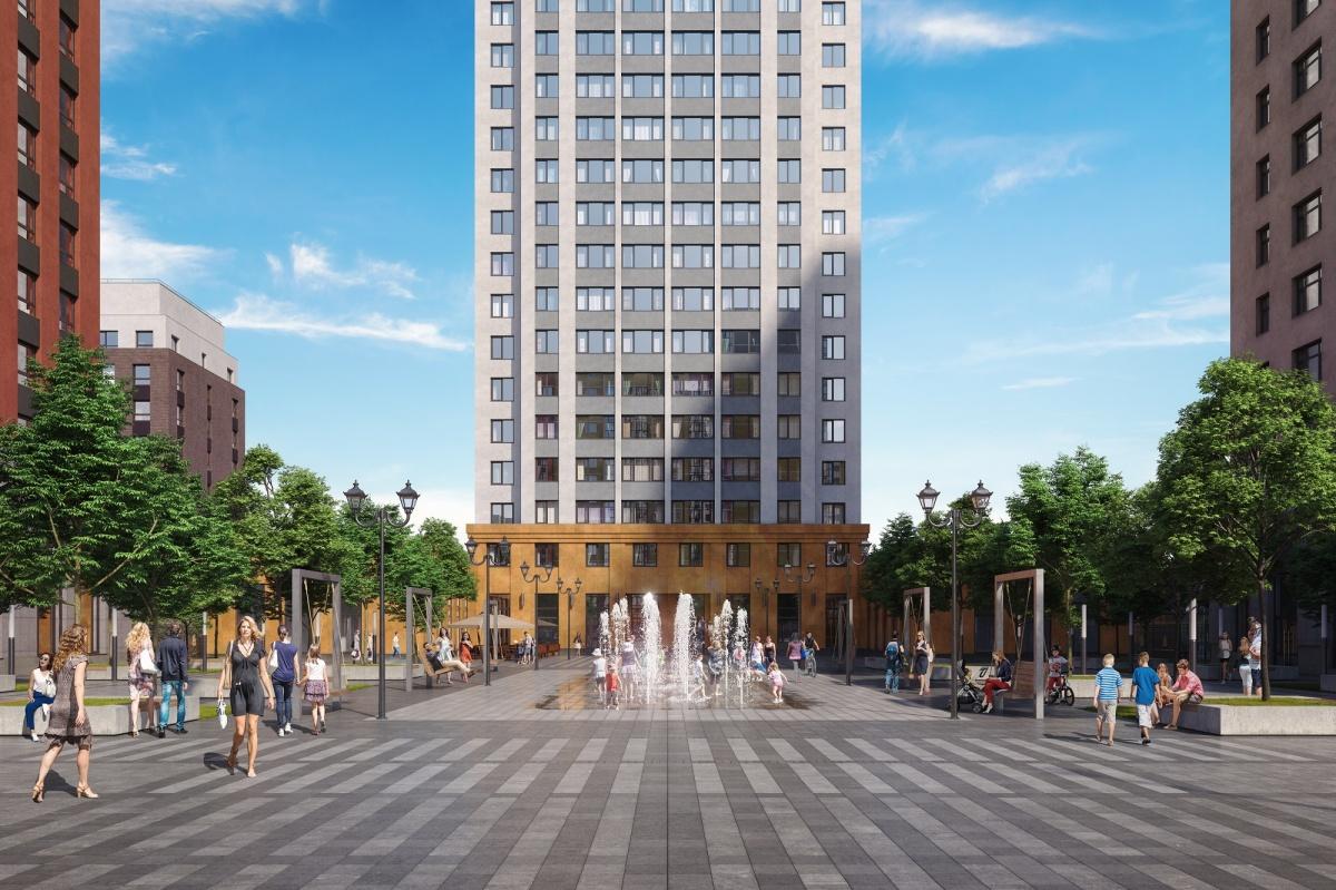 Башня станет центром всего квартала