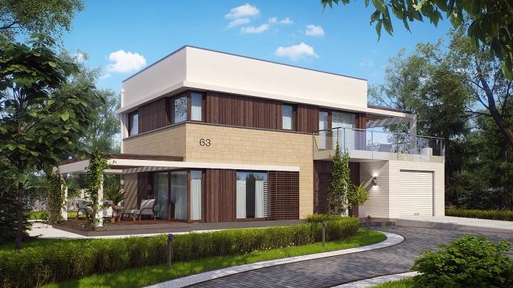 Бесплатный проект загородного дома и гарантированный подарок новосибирцам предлагает «Квадрат»