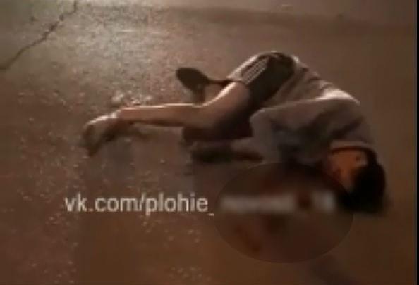 Бросил умирать: в Башкирии лихач на «Гранте» проехал на красный, сбил человека на переходе и скрылся