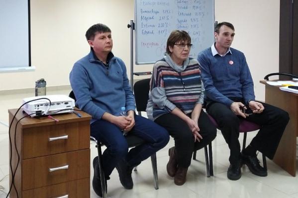 Олег Мандрыкин, Светлана Бабенко и Сергей Илюхин были выбраны как кандидаты в «народные губернаторы»