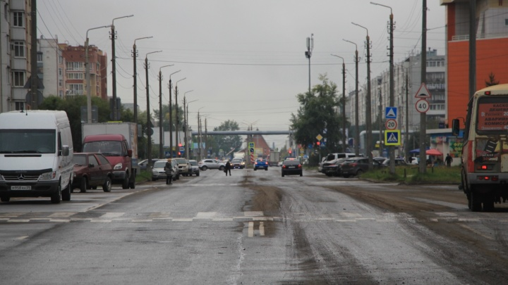 В Архангельске изменилось движение на перекрестке Ленинградского и Галушина
