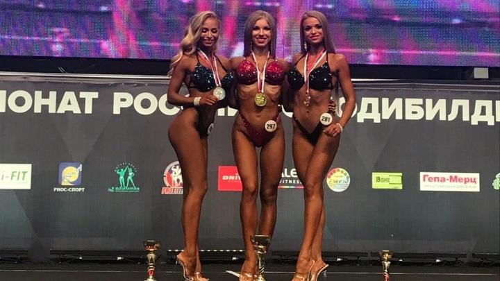 Самые накачанные жители Свердловской области завоевали награды чемпионата России: рассматриваем фото