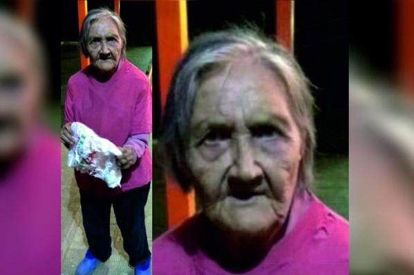 На фото: Ирина Романовна Андреева (Миронова), 86 лет