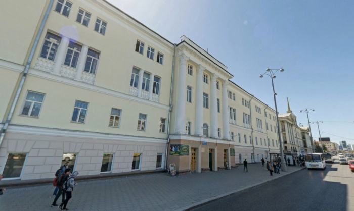 Колледж имени Ползунова, находящийся в самом центре Екатеринбурга, попал в эту сотню