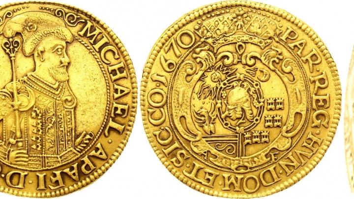 Новосибирцы продали монету с родины Дракулы почти за 2 миллиона