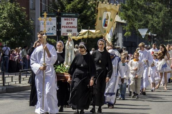 Религиозный по происхождению праздник Евхаристии стал во многих странах народным