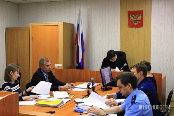 Судья Денис Середнёв вынес своё решение (фото из архива)