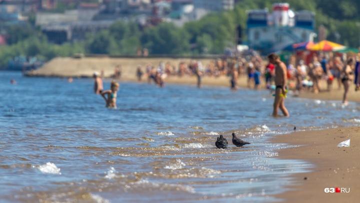 Микробы! Роспотребнадзор забраковал 10 пляжей Самарской области