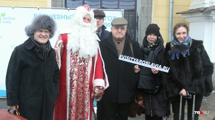 На встречу с Путиным приехал целый вагон кинозвёзд