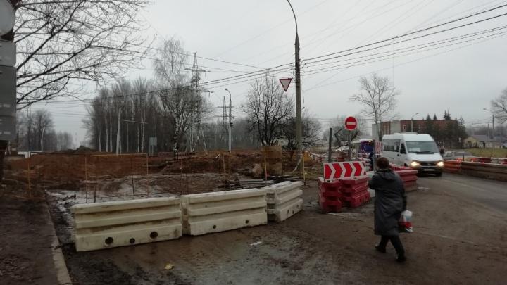 «Дорогу не откроем»: в Ярославле второй раз перенесли открытие Тутаевского шоссе
