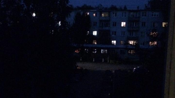 Освещение в Ленинском районе восстановили после публикации NN.RU