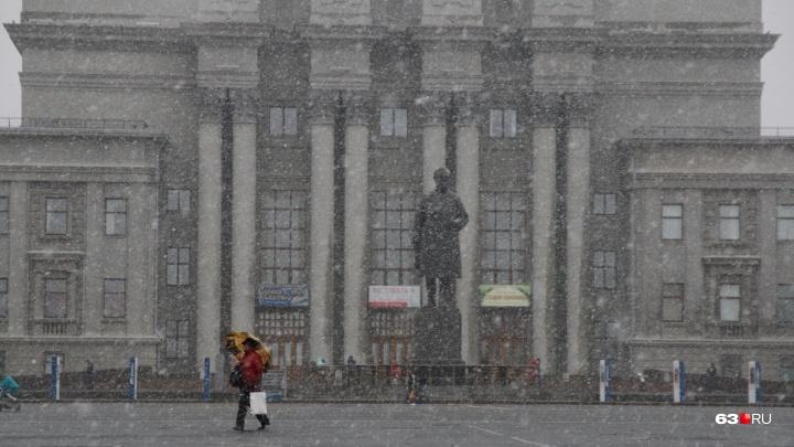 В конце недели в Самарской области выпадет снег и похолодает до -13 градусов