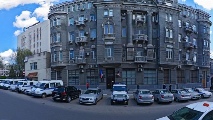 В отделе полиции в центре Ростова незаконно хранили наркотики