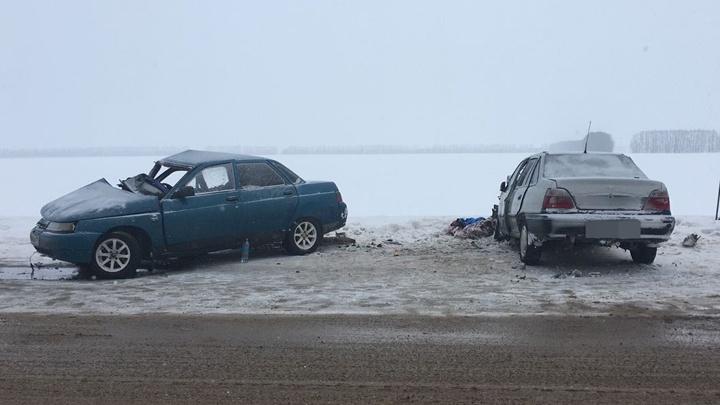 Смертельная авария под Уфой: погибли двое мужчин