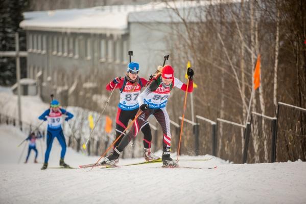 Соревнования проходили в Новосибирском биатлонном комплексе