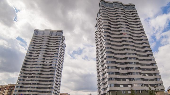 Квартал небоскрёбов: назван район Новосибирска с самыми высокими новостройками