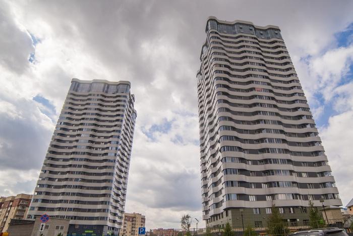 Большинство высоток строят в Октябрьском районе —среди них и знаменитые 25-этажки «Оазиса»
