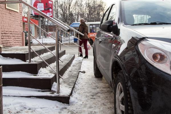 Чтобы не платить штраф, не нужно парковаться не по правилам