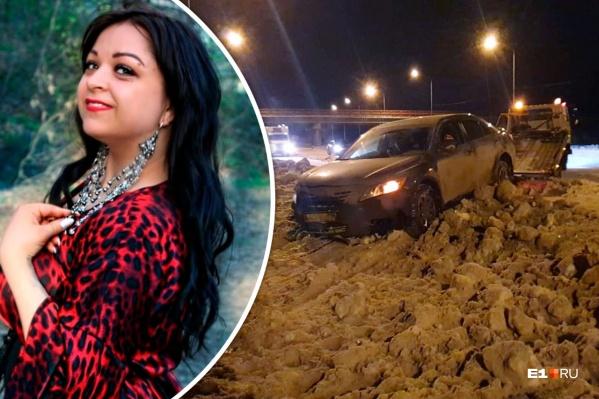 Евгения Клементьева и ее гражданский муж через суд добились полумиллионной выплаты за разбитую Toyota Camry