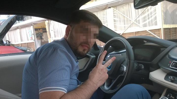 «Бумер»-2: челябинец на BMW, ударивший пожилую автомобилистку, уже имел проблемы с законом
