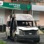 «Аптека явно не поможет»: на парковке у дома в Челябинске сгорела маршрутка