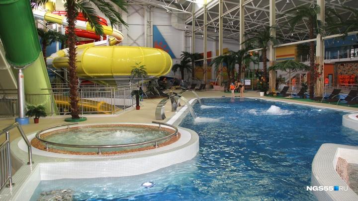 Завтра в Омске без воды останутся аквапарк и онкодиспансер