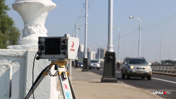 805 нарушений за сутки: на отремонтированном Бельском мосту в Уфе водители превышают скорость