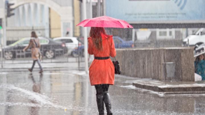 Готовьте зонтики: первая неделя апреля закончится дождями