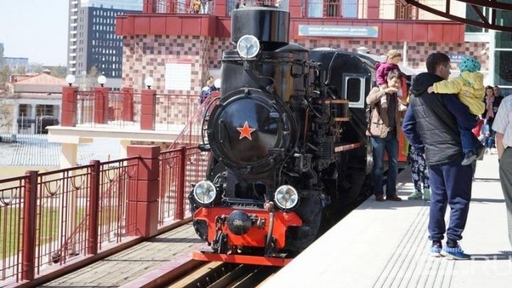 Детская железная дорога в Екатеринбурге будет работать круглый год