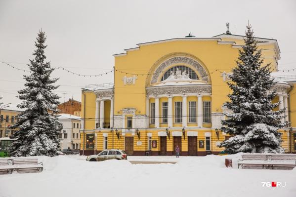 Облик площади Волкова в Ярославле может измениться в обозримом будущем
