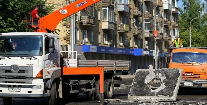 На среду намечено последнее перекрытие улицы Ленина