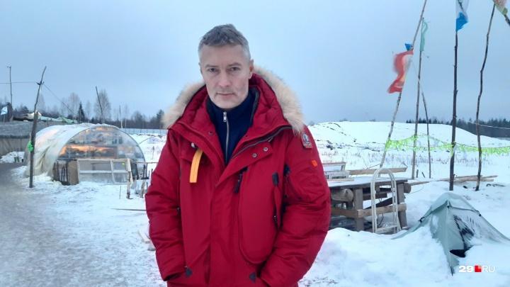 «Тот самый случай, когда отступать нельзя»: эксклюзивное интервью с Евгением Ройзманом на Шиесе