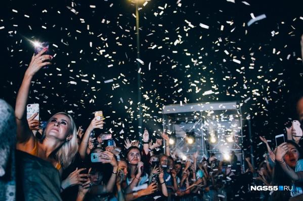 Омичи смогут оторваться на фестивале электронной музыки