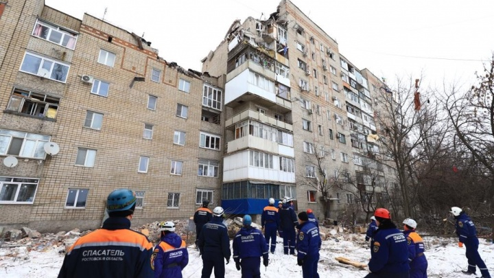 По факту взрыва в Шахтах возбудили уголовное дело