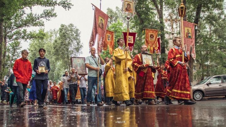В Самаре перекроют дороги, чтобы провести крестный ход