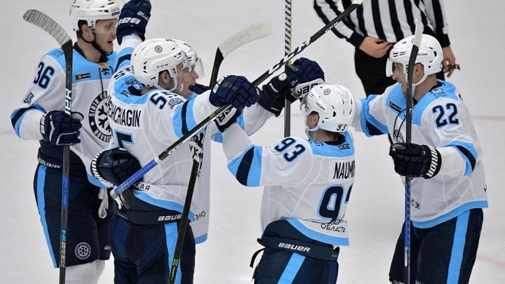 Хоккей: ХК «Сибирь» прервал серию поражений