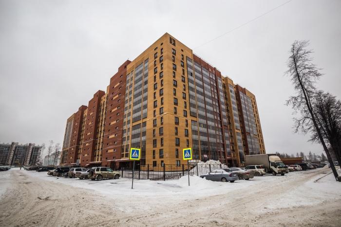 ЖК «Северная корона» строится на улице Мясниковой