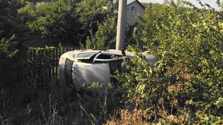 «Прилег на бок»: в Самарской области водитель «Лады» улетел в кювет