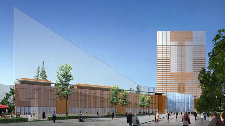 «Возникли проблемы»: ТРЦ на пустыре у «Екатеринбург-Сити» построят на три года позже обещанного