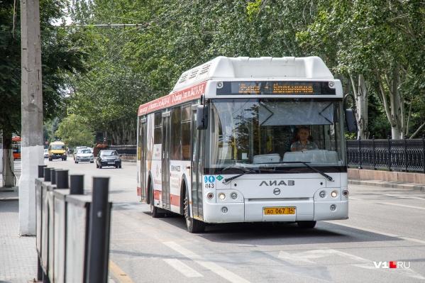 В начале недели волгоградцы пожаловались на постоянный рокот автобусов