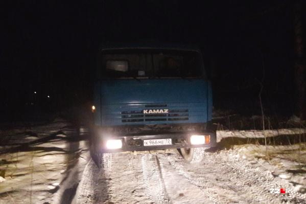 Машину заметили возле стрелкового комплекса «Стальной азарт»