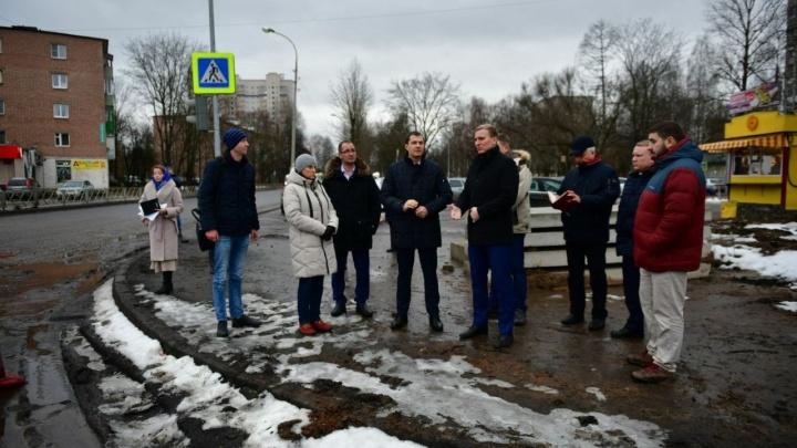 Мэр Ярославля сходил на Тутаевское шоссе и нашёл недостатки