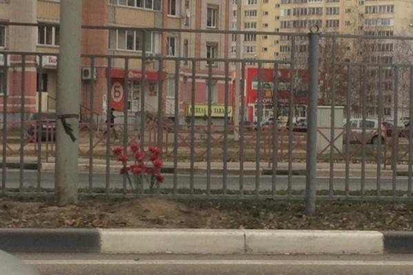 Девочка перебегала дорогу на красный