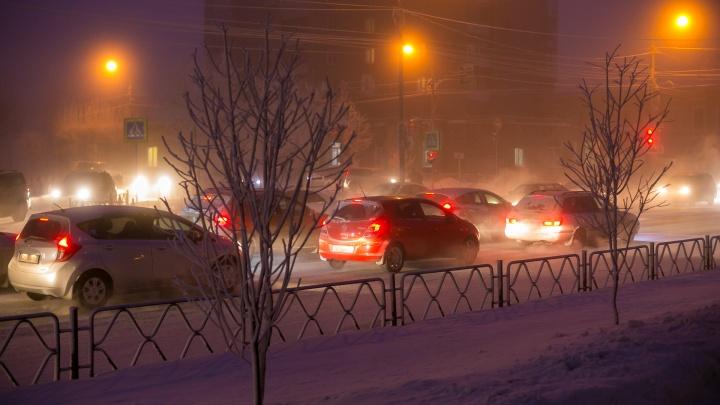 Как Красноярск пережил первый день новой волны холодов: хроника дня