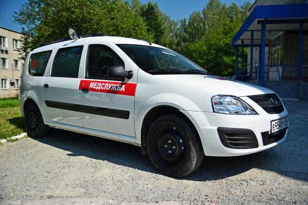 Новая машина будет забирать тяжелобольных детей из Новосибирска и районов области в стационар