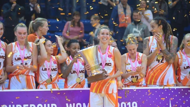 Баскетболистки УГМК начали европейский сезон победой в Суперкубке Европы